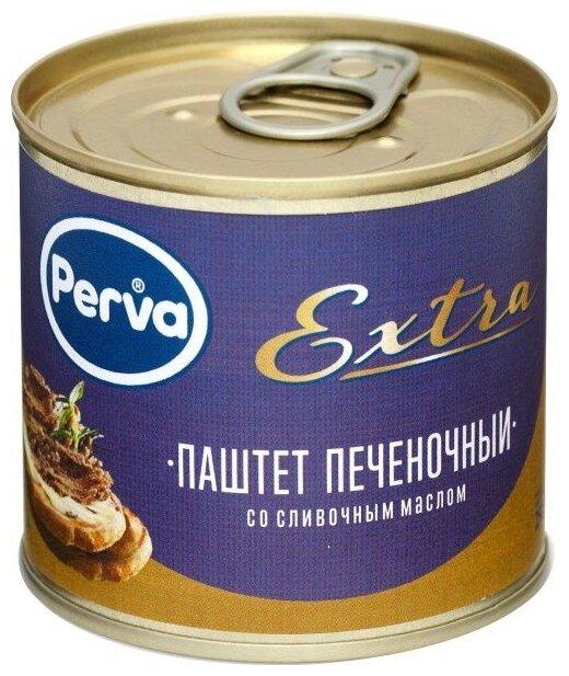Паштет Perva Extra Печеночный со сливочным маслом 250 г
