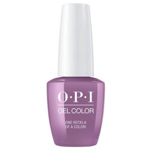 Фото - Гель-лак для ногтей OPI GelColor Iceland, 15 мл, One Heckla of a Color! opi гель лак для ногтей gelcolor iceland check out the old geysirs 15 мл