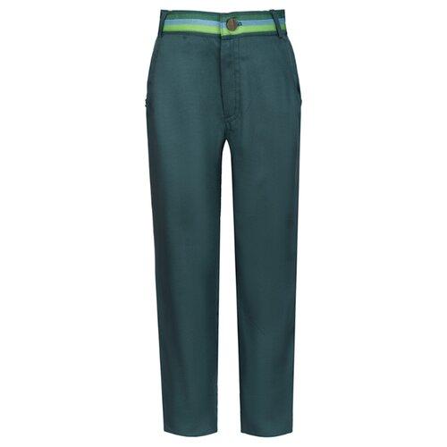 Брюки Stilnyashka размер 104, зеленый юбка stilnyashka размер 104 желтый