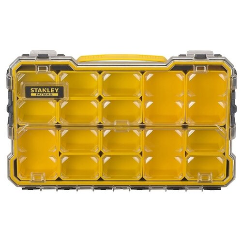 Органайзер STANLEY 2/3 FMST1-75779 Fatmax 43.2x26.7x6.4 см черный/желтый органайзер stanley 1 92 748 42 2x33 4x5 2 см черный желтый