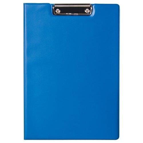 Купить Berlingo Папка-планшет с зажимом с крышкой А4, ПВХ синий, Файлы и папки