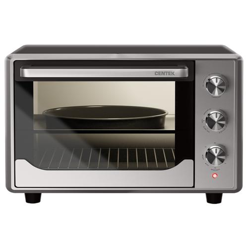Фото - Мини-печь CENTEK CT-1540 серебристый/черный мини печь pioneer mo5015g серебристый