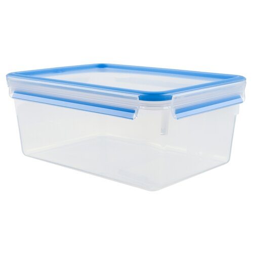 Tefal Контейнер CLIP&CLOSE 1 л белый/синий контейнер tefal tefal glass clip