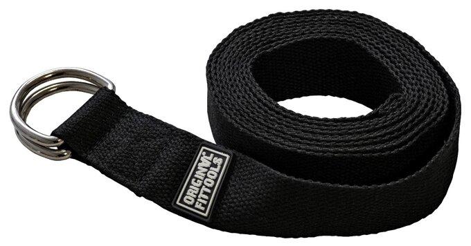 Ремень для йоги Original FitTools FT-YSTP-BLACK