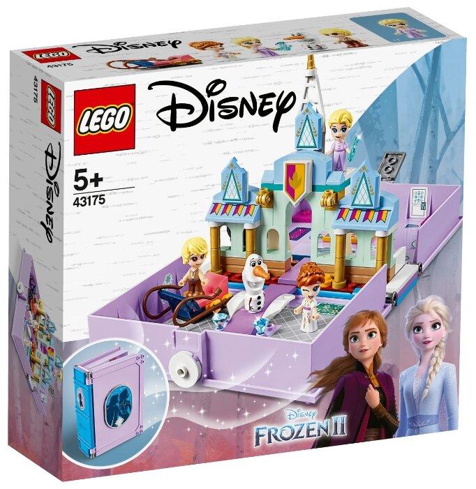 Конструктор Disney Princess 43175 Конструктор LEGO Disney Princess Книга приключений Анны и Эльзы