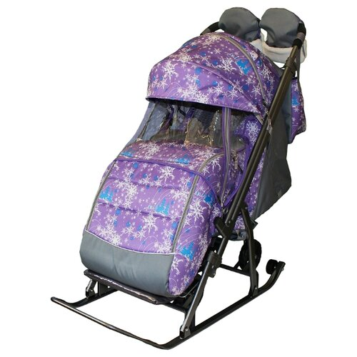 Купить Санки-коляска Galaxy Kids 3-1, Санки и аксессуары