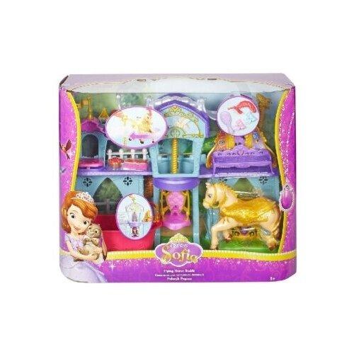 Купить Игровой набор Mattel Sofia Замок с Пегасом МАТТЕЛ, Игровые наборы и фигурки