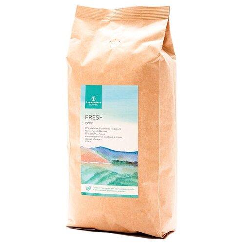Кофе в зернах Impassion Fresh, арабика/робуста, 1000 г