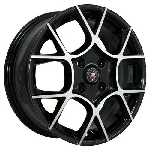 Фото - Колесный диск NZ Wheels F-26 6.5x16/4x100 D54.1 ET52 BKF nz sh655 6 5x16 4x100 d54 1 et52 s