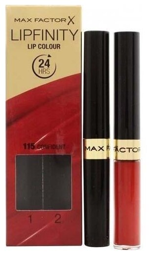 Max Factor Набор для макияжа губ Lipfinity тон 115 Confident