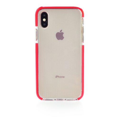 Купить Чехол Gurdini Crystal Ice для Apple iPhone X/Xs красный