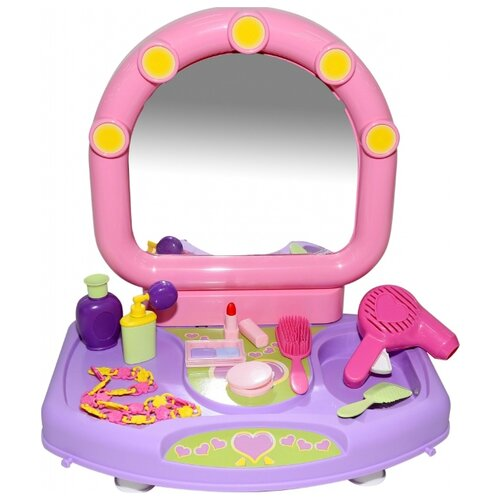 Купить Туалетный столик Полесье Милена в пакете (53428), Играем в салон красоты