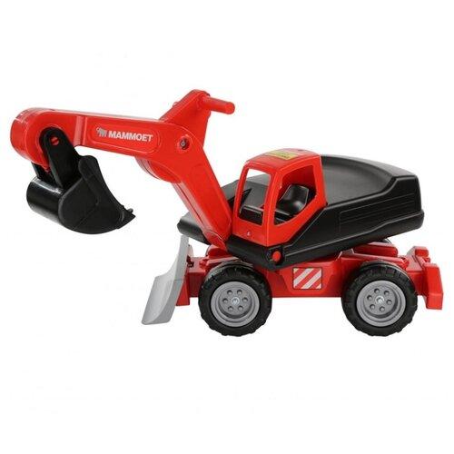 Каталка-игрушка Полесье MAMMOET (66237) красный/черный каталка игрушка полесье биосфера котёнок 54456