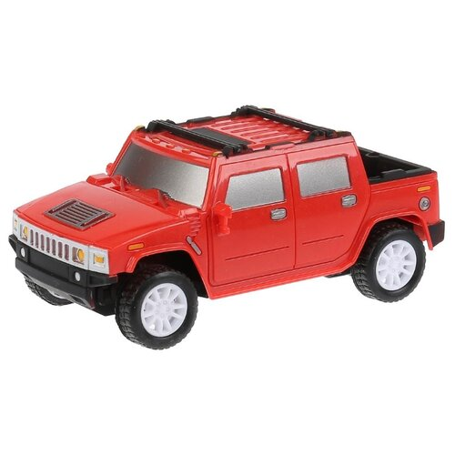 Купить Внедорожник Технодрайв Джип (T490-D4778-R) 1:28 19.5 см красный, Радиоуправляемые игрушки