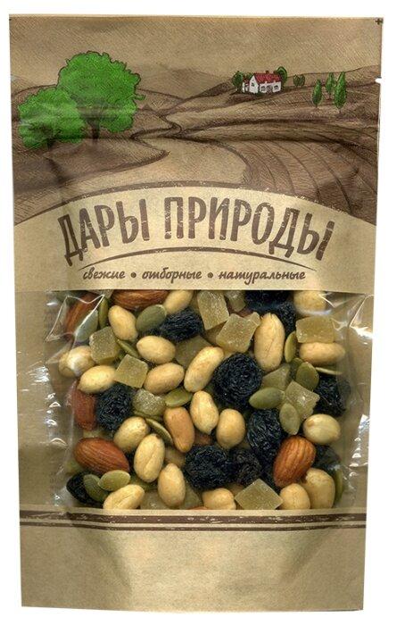 Смесь орехов, сухофруктов, цукатов и семечек ДАРЫ ПРИРОДЫ Сладкая 150 г