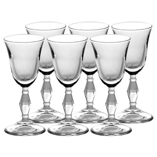 Pasabahce Набор бокалов для вина Retro 236 мл 6 шт прозрачный pasabahce набор бокалов tulipe 200 мл 6 шт прозрачный