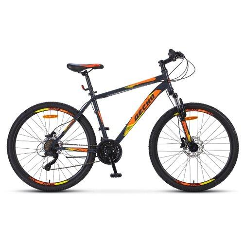 Горный (MTB) велосипед Десна 2610 D 26 (2019) серый/оранжевый 16