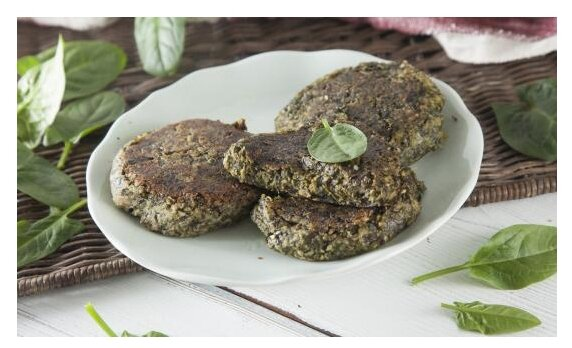 ВкусВилл Котлеты из морской капусты со шпинатом 300 г
