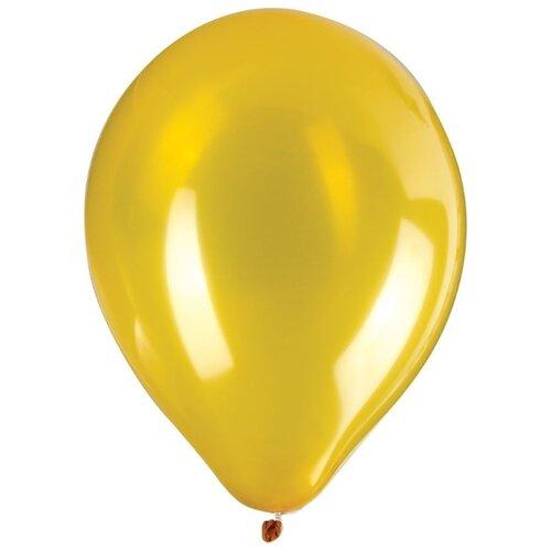 Набор воздушных шаров ZIPPY Металлик 25 см (50 шт.) золотой