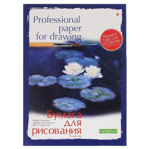 Купить Папка для рисования Альт 59.4 х 42 см (A2), 160 г/м², 8 л., Альбомы для рисования