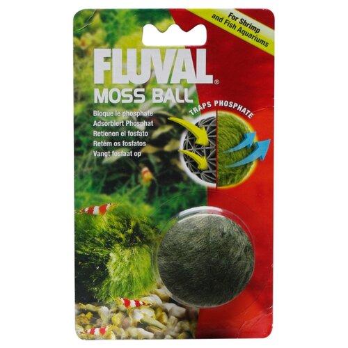 Искусственное растение Fluval Moss Ball зеленый