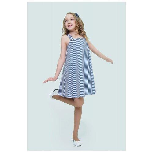 Купить Сарафан Ladetto размер 38, темно-синий, Платья и сарафаны