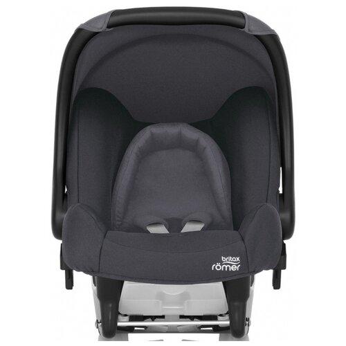 Автокресло-переноска группа 0+ (до 13 кг) BRITAX ROMER Baby-Safe, Storm Grey группа 0 0 от 0 до 13 кг britax roemer baby safe plus shr ii