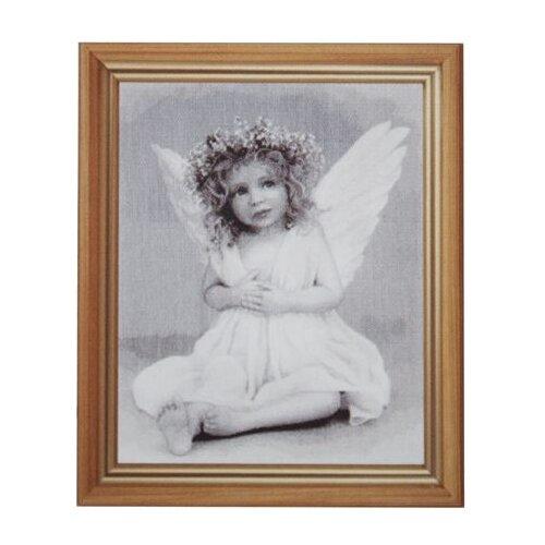 Hobby & Pro Набор для вышивания Ангелочек 33 х 43 см (764) статуэтка pavone муз фигурка pavone ангелочек 103176