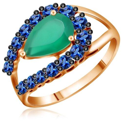 Бронницкий Ювелир Кольцо из красного золота Д0268-714187, размер 17 бронницкий ювелир кольцо из красного золота д0268 017060 размер 17
