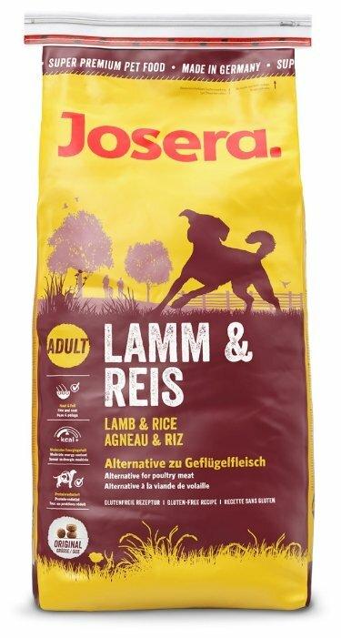 Корм для собак Josera Lamb & Rice (3 кг)