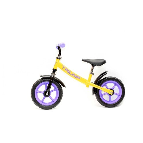 Беговел Triumf Active AKB-1289, желтый/фиолетовый недорого