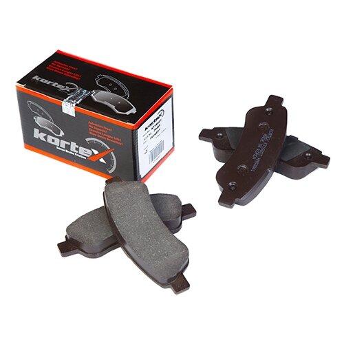Дисковые тормозные колодки задние KORTEX KT1682STD для Citroen Jumper, Peugeot Boxer, Fiat Ducato (4 шт.)