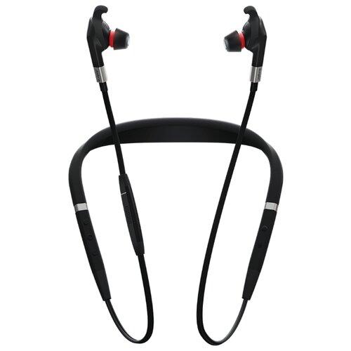 DECT/Bluetooth-гарнитура Jabra Evolve 75e UC черный jabra classic черный