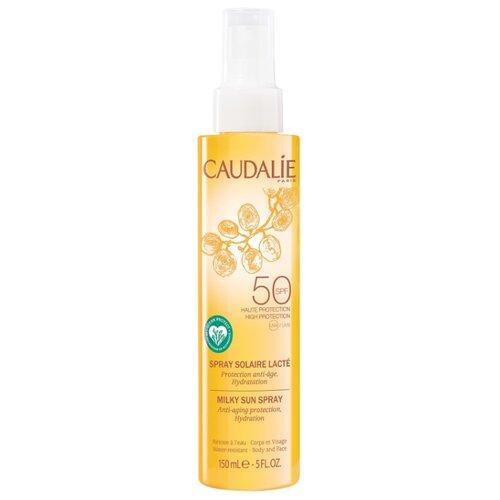 Caudalie Молочко-спрей для тела и лица солнцезащитное SPF50 150 мл caudalie