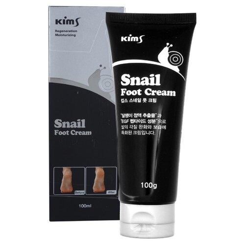Kims Улиточный крем для ног Snail Foot Cream 100 г