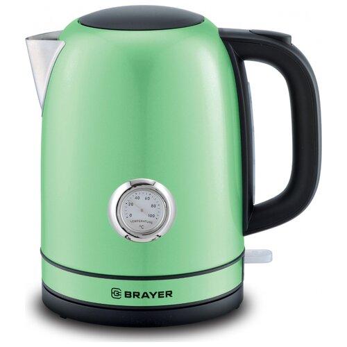 Фото - Чайник BRAYER BR1005, зеленый чайник brayer br1020
