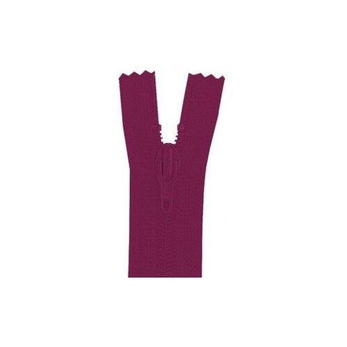 YKK Молния витая неразъемная 0561179/16, 16 см, 853 бордово-фиолетовый/бордово-фиолетовый ykk молния тракторная разъемная 4335956 75 75 см бордово фиолетовый бордово фиолетовый