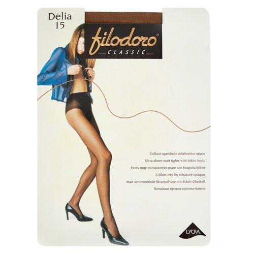 Колготки Filodoro Classic Delia 15 den, размер 3-M, glace (коричневый) колготки filodoro classic dora 20 den размер 3 m glace коричневый