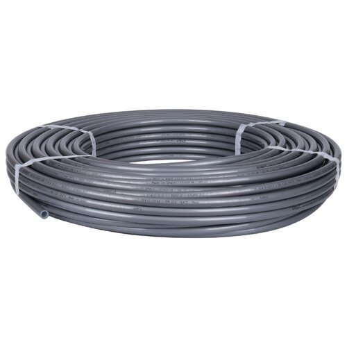 Труба из сшитого полиэтилена STOUT PE-Xa/EVOH 16, DN12 мм, 240м 240 м серый