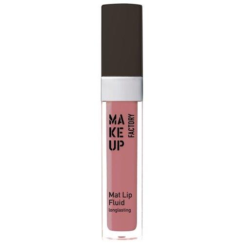 Make up Factory Флюид для губ устойчивый матовый Mat Lip Fluid longlasting, 61 Velvet Rosewood кисть для лица make up factory make up factory ma120lwhds72
