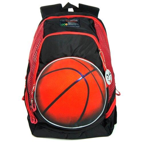 ufo people рюкзак школьный цвет черный 7227 Ufo People Рюкзак 7703, черный/красный