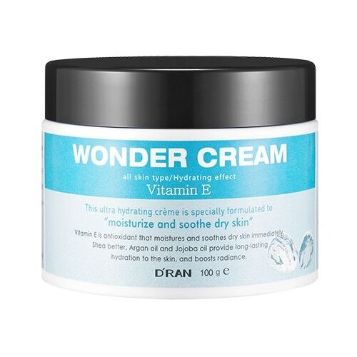 D'RAN Wonder Cream Vitamin E Крем для лица с витамином Е, 100 г крем от растяжек с витамином е