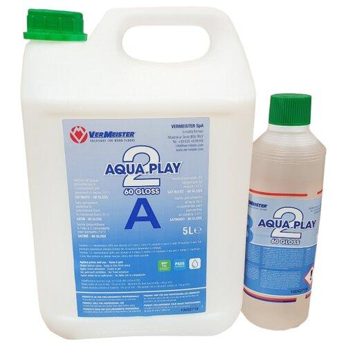 Фото - Лак Vermeister AquaPlay 2 60 водорастворимый прозрачный 5.5 л aquaplay водный трек big aquaplay страна приключений