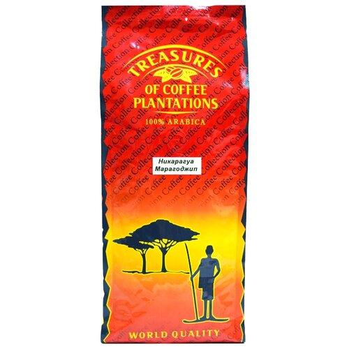 Кофе в зернах Сокровища кофейных плантаций Никарагуа Марагоджип, арабика, 1000 г кофе в зернах сокровища кофейных плантаций папуа новая гвинея арабика 1000 г