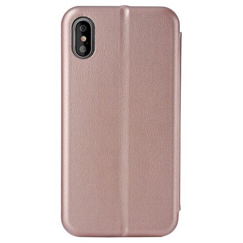 Купить Чехол uBear Wallet для Apple iPhone X rose gold