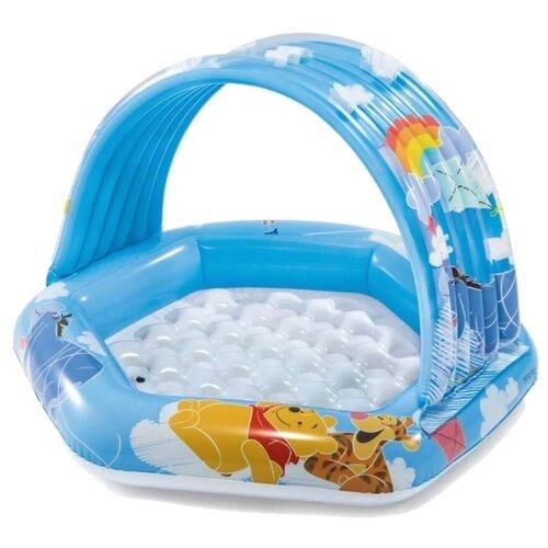 Детский бассейн Intex Winnie The Pooh 58415 голубой/белый