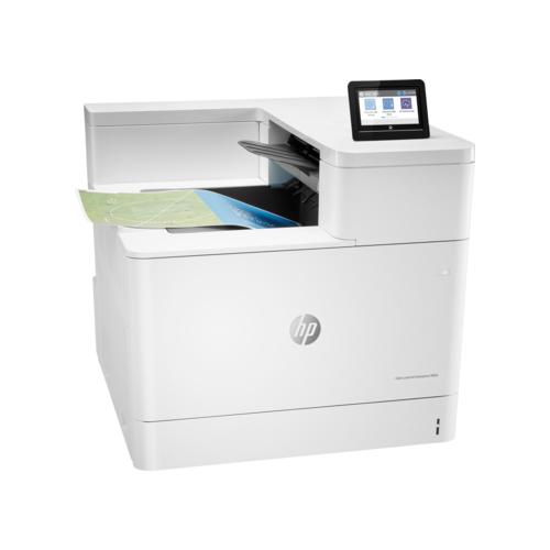Принтер HP Color LaserJet Enterprise M856dn белый принтер hp color laserjet enterprise m553dn b5l25a