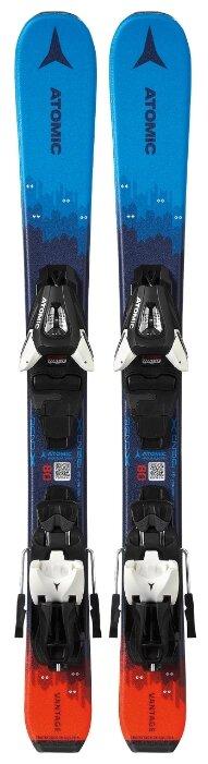 Горные лыжи Atomic Vantage Jr 70-90 с креплениями C5 gw Blue/Red 19-20