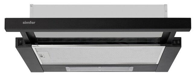 Встраиваемая вытяжка Simfer 7000 black