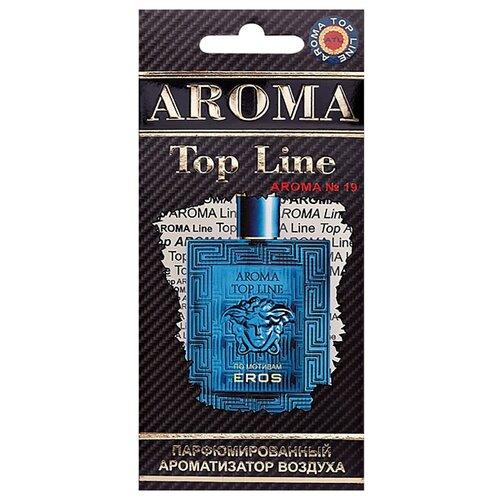 AROMA TOP LINE Ароматизатор для автомобиля Aroma №19 Versace Eros 14 г